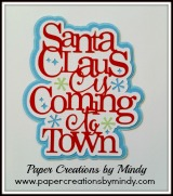Santa Claus is Coming to Town Title