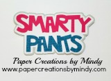 Smarty Pants Title Pink