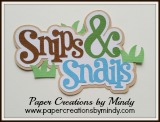 Snips and Snails Title