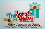 The Spirit of Giving Title