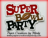 Superbowl Party Title