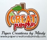 The Great  Pumpkin Title SVG