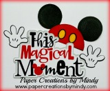 This Magical Moment Title- Mickey