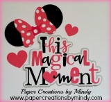 This Magical Moment Title - Minnie