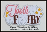Tooth Fairy Title Pink