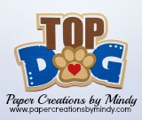 Top Dog TBD Title Blue