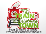 Train to Christmas Town Train Title