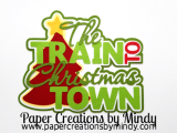 Train to Christmas Town Tree Title