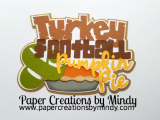 Turkey Football Pumpkin Pie Title