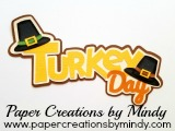 Turkey Day SVG Title