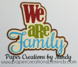 We Are Family Title