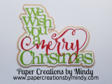 We Wish You Merry Christmas Title