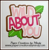 Wild About You Title Pink