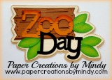 Zoo Day Title